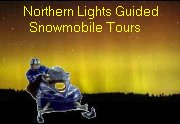 Northern Lights Guided Snowmobile Tours